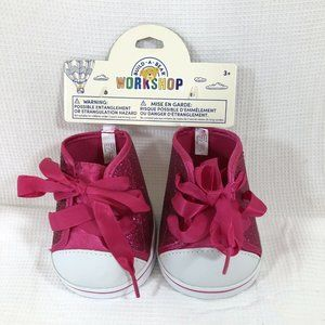 Build A Bear Workshop BABW Hot Pink HiTop Sneakers